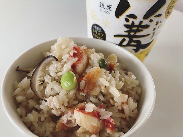 タラバ蟹飯
