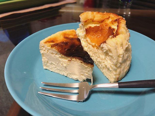 バスクチーズケーキ食べ比べ